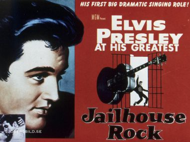Photo ID - 10938, Year - 1957, Film Title - JAILHOUSE ROCK, Director - RICHARD THORPE, Studio - MGM, Keywords - 1957, ELVIS PRESLEY, RICHARD THORPE, POSTER ART